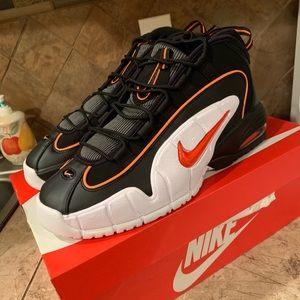 Nike Air Penny Black total orange